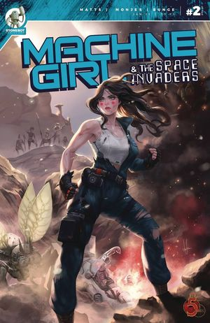 MACHINE GIRL AND SPACE INVADERS (2020) #2