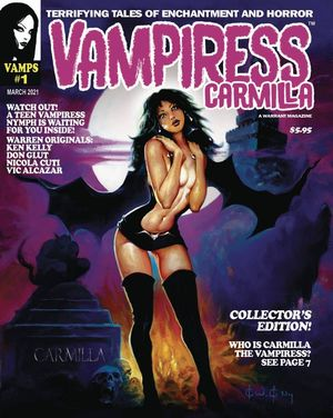 VAMPIRESS CARMILLA MAGAZINE (2020) #1