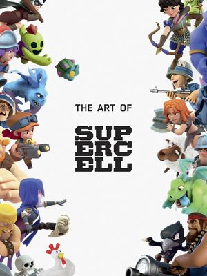 ART OF SUPERCELL 10 ANNIVERSARY ED HC