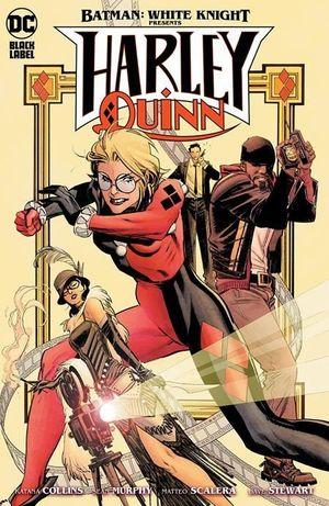 BATMAN WHITE KNIGHT PRESENTS HARLEY QUINN (2020) #4