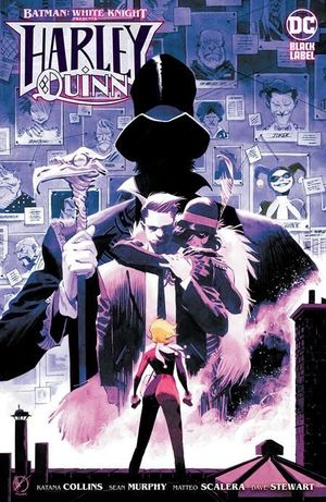 BATMAN WHITE KNIGHT PRESENTS HARLEY QUINN (2020) #4B