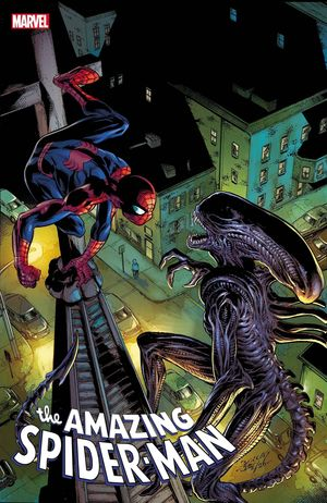 AMAZING SPIDER-MAN (2018 6TH SERIES) #56 ALIEN