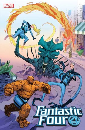FANTASTIC FOUR (2018 6TH SERIES) #28 ALIEN