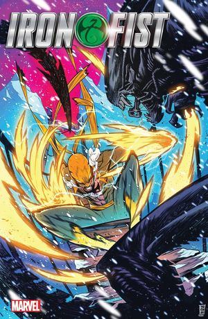 IRON FIST HEART OF DRAGON (2021) #1 ALIEN