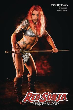 RED SONJA PRICE OF BLOOD CVR E RAY COSPLAY 2