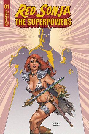 RED SONJA THE SUPERPOWERS CVR B LINSNER 1