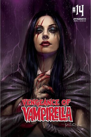 VENGEANCE OF VAMPIRELLA CVR A PARRILLO 14