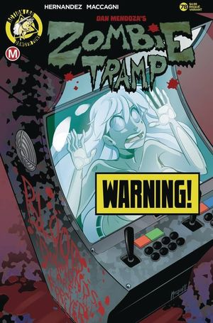 ZOMBIE TRAMP ONGOING CVR B MACCAGNI RISQUE 78
