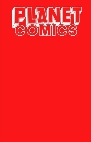 PLANET COMICS SKETCHBOOK ONE SHOT RED GIANT ED 1