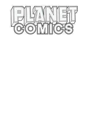PLANET COMICS SKETCHBOOK ONE SHOT WHITE STAR ED 1