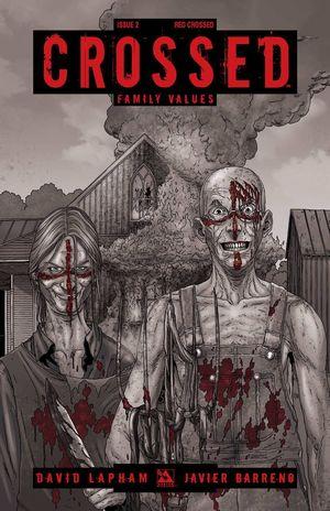 CROSSED FAMILY VALUES RED CROSSED VAR 2