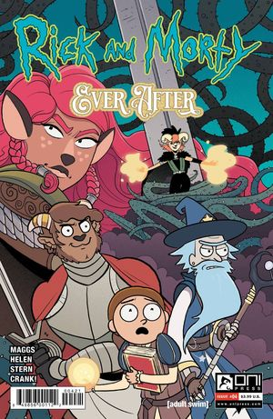 RICK AND MORTY EVER AFTER (2020) #4B