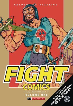 GOLDEN AGE CLASSICS FIGHT COMICS HC VOL 01 1