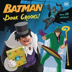 DC SUPER HEROES BATMAN BOOK CROOKS PICTUREBACK