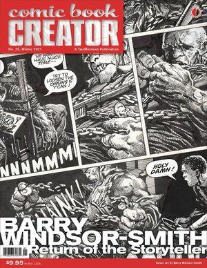 COMIC BOOK CREATOR (2013) #25