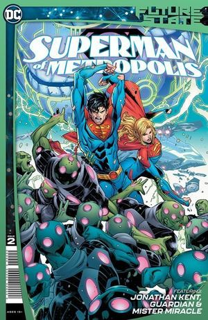 FUTURE STATE SUPERMAN OF METROPOLIS (2021) #2