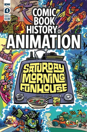 COMIC BOOK HISTORY OF ANIMATION (2020) #4