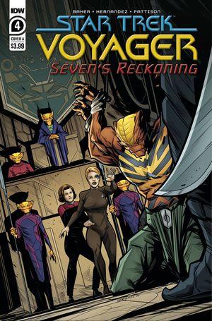STAR TREK VOYAGER SEVENS RECKONING (2020) #4