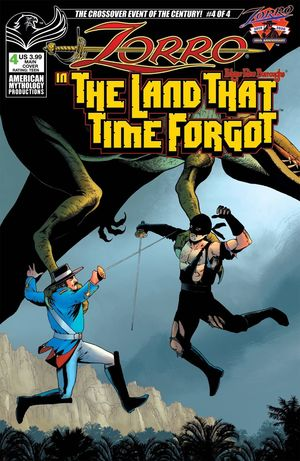 ZORRO IN LAND THAT TIME FORGOT (2020) #4