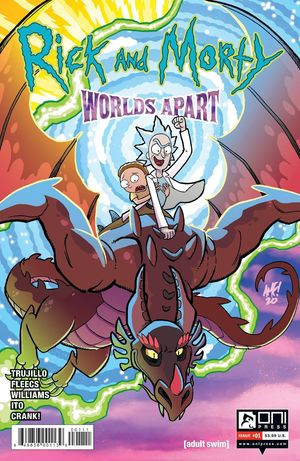 RICK AND MORTY WORLDS APART (2021) #1