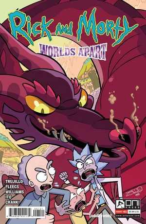 RICK AND MORTY WORLDS APART (2021) #1B