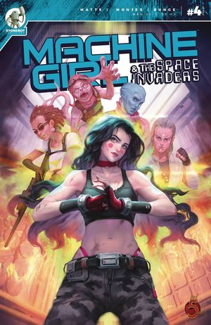 MACHINE GIRL AND SPACE INVADERS (2020) #4