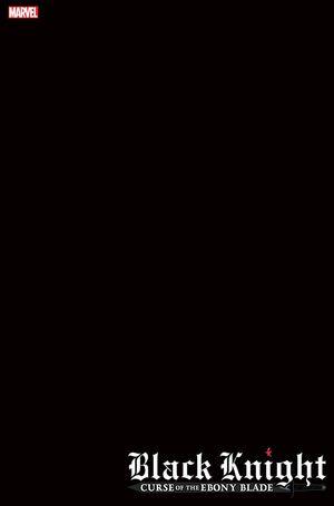 BLACK KNIGHT CURSE EBONY BLADE (2021) #1 BLANK