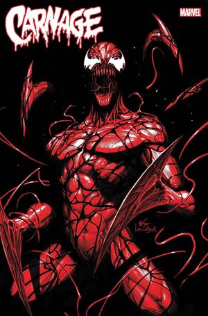 CARNAGE BLACK WHITE AND BLOOD (2021) #1 LEE