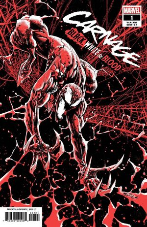 CARNAGE BLACK WHITE AND BLOOD (2021) #1 OTTLEY