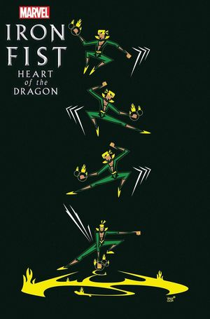 IRON FIST HEART OF DRAGON (2021) #3B