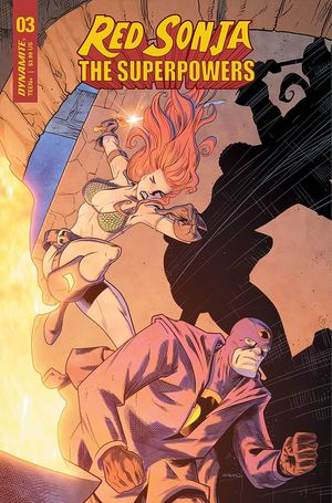 RED SONJA THE SUPERPOWERS (2021) #3D