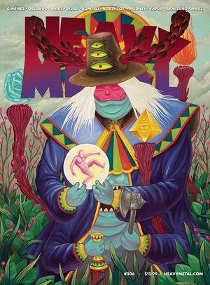 HEAVY METAL MAGAZINE (1977) #306