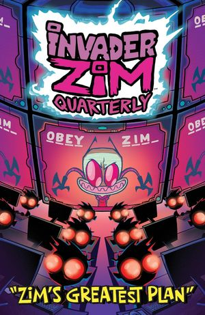 INVADER ZIM QUARTERLY ZIMS GREATEST PLAN CVR A STRESING 1