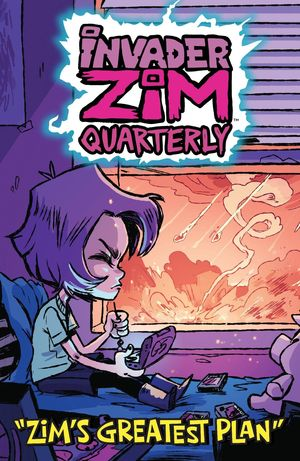 INVADER ZIM QUARTERLY ZIMS GREATEST PLAN CVR B CAB 1