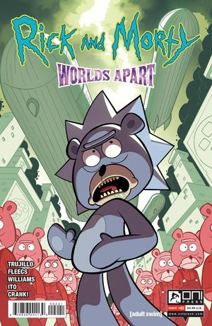 RICK AND MORTY WORLDS APART (2021) #2B