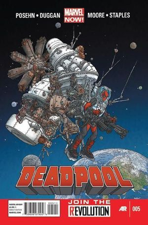 DEADPOOL (2012 3RD SERIES) #5