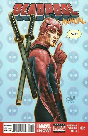 DEADPOOL ANNUAL (2012 3RD SERIES) #2