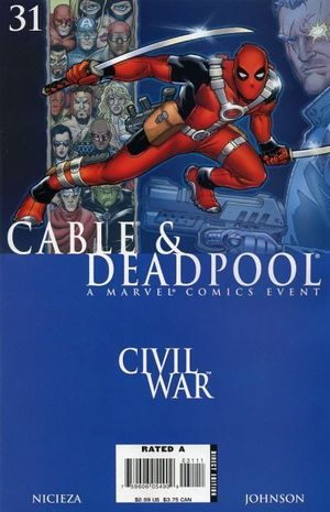 CABLE AND DEADPOOL (2004) #31