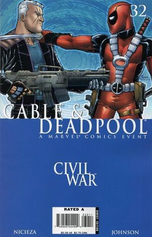 CABLE AND DEADPOOL (2004) #32