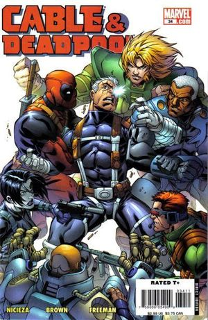 CABLE AND DEADPOOL (2004) #34