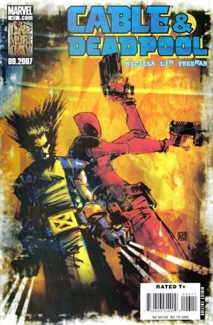 CABLE AND DEADPOOL (2004) #43