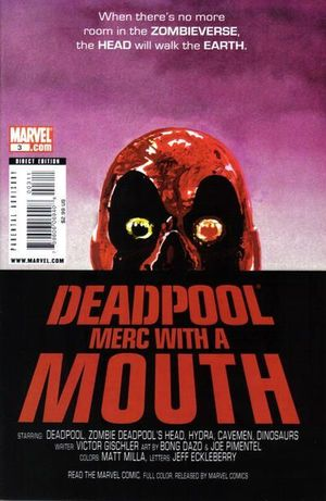 DEADPOOL MERC WITH A MOUTH (2009) #3