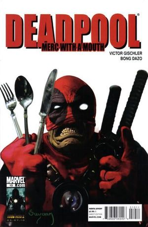 DEADPOOL MERC WITH A MOUTH (2009) #10