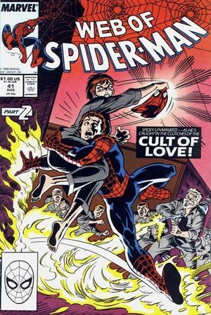 WEB OF SPIDER-MAN (1985 1ST SERIES) #41