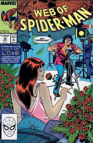 WEB OF SPIDER-MAN (1985 1ST SERIES) #42