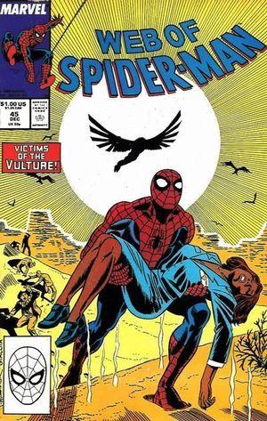 WEB OF SPIDER-MAN (1985 1ST SERIES) #45