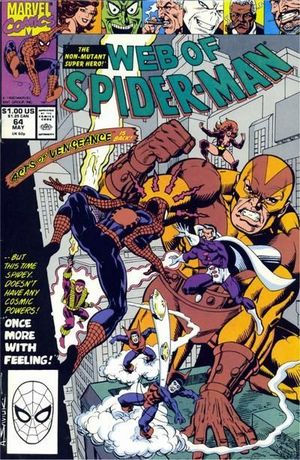 WEB OF SPIDER-MAN (1985 1ST SERIES) #64