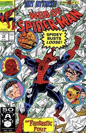 WEB OF SPIDER-MAN (1985 1ST SERIES) #76