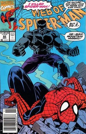 WEB OF SPIDER-MAN (1985 1ST SERIES) #82