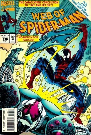 WEB OF SPIDER-MAN (1985 1ST SERIES) #116